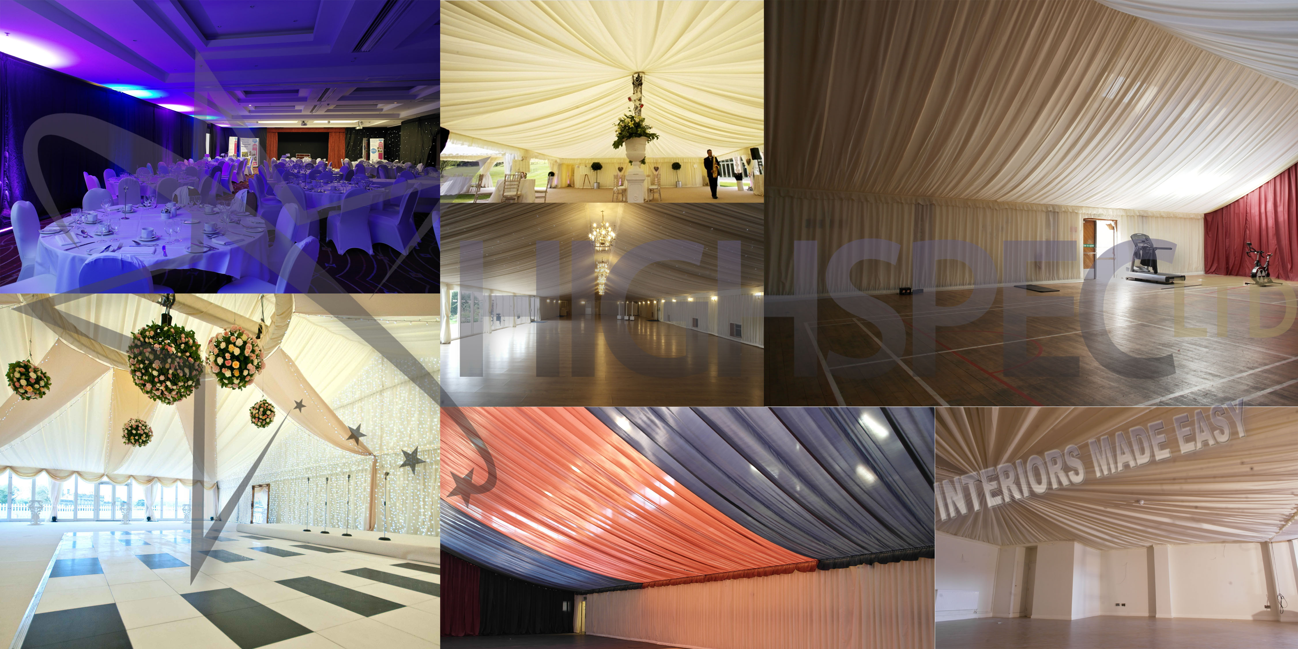 Event venue decor
