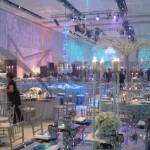 Venue decor draping