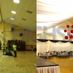 Hall venue decor