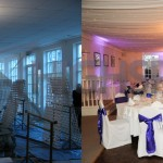 Venue draping - Event draping starlight ceiling