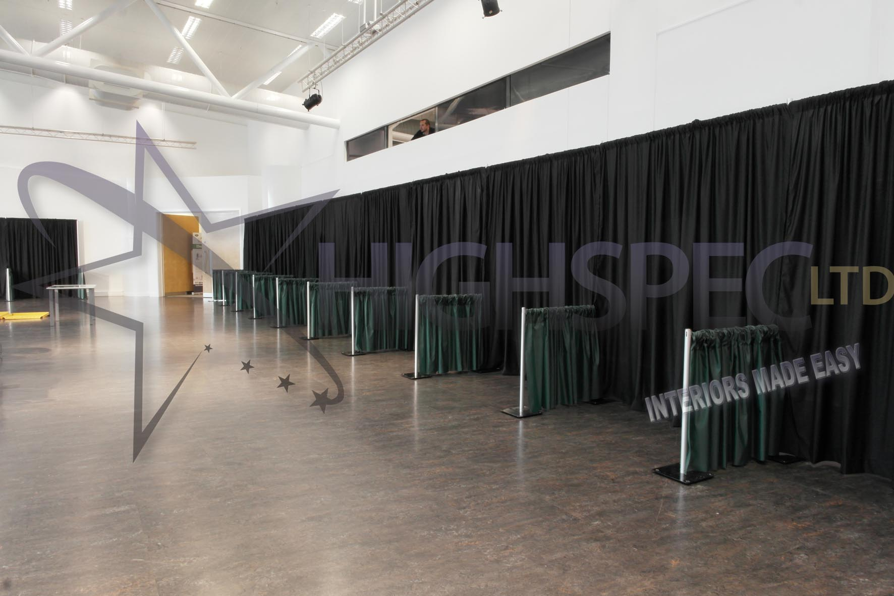 Exhibition Booth Draping